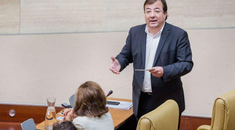 Fernández Vara reitera que no se cerrará la Central Nuclear de Almaraz mientras no haya una alternativa económica para la zona