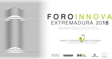 El Foro Innova Extremadura 2018 abordará en Cáceres la eficiencia para la competitividad empresarial