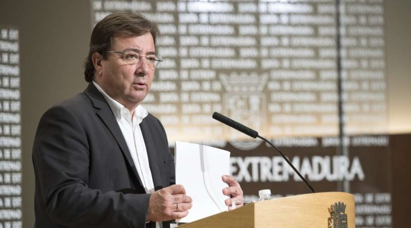 El 6 de Noviembre fecha límite para presentar los Presupuestos Generales de la Región en el Parlamento Extremeño