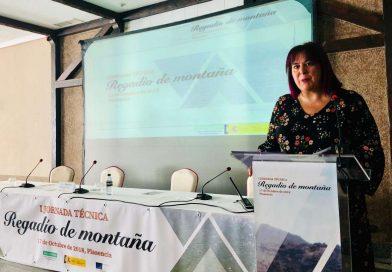Begoña García apuesta por una política de regadío como freno ante el despoblamiento